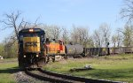 CSX 7626 & BNSF 4829